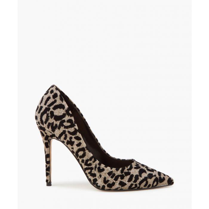 Image for Krisp pewter animal print court heels
