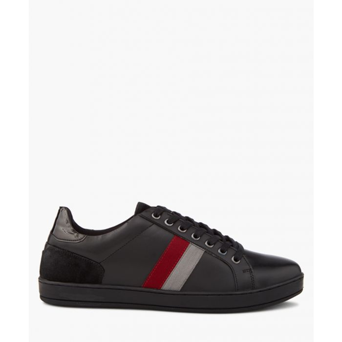 Image for Theo black striped sneakers