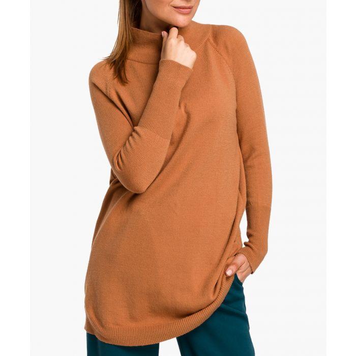 Image for Stylove camel jumper