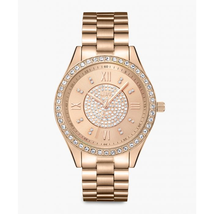 Image for Mondrian Watches 18k rose gold-plated stainless steel watch