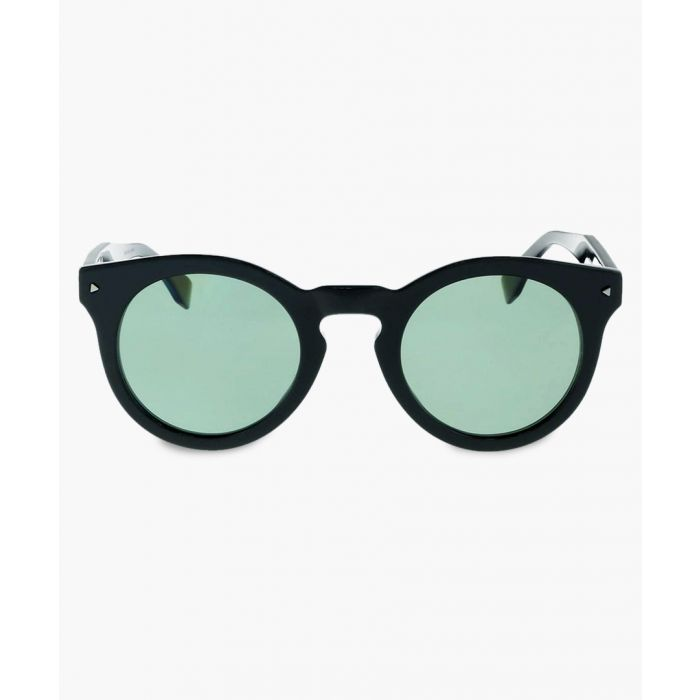 Image for Black and green sunglasses
