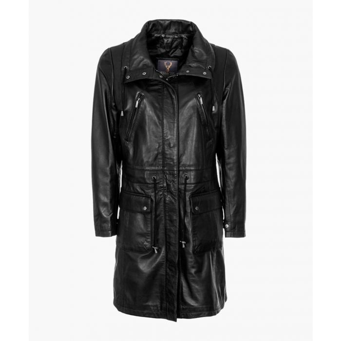 Image for Womens black classic parka