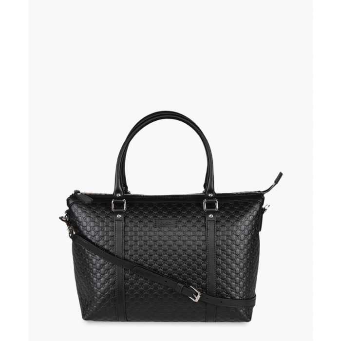 Image for Nice black Microguccissima leather tote