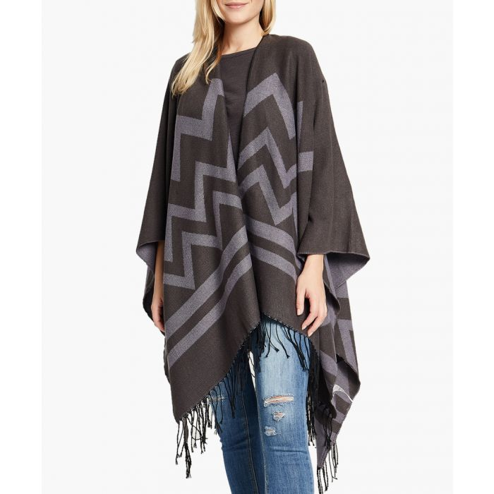 Image for Grey poncho
