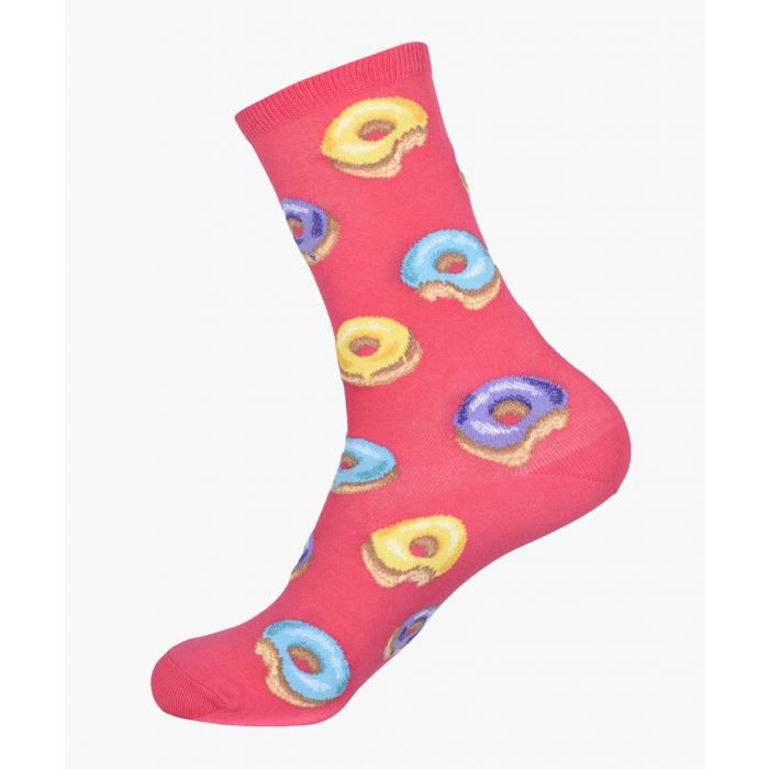 Image for 2pc Donut cotton-blend socks