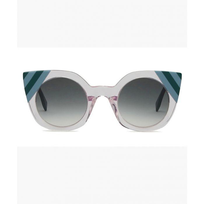 Image for Fendi SUNGLASSES Pink / Grey Gradient