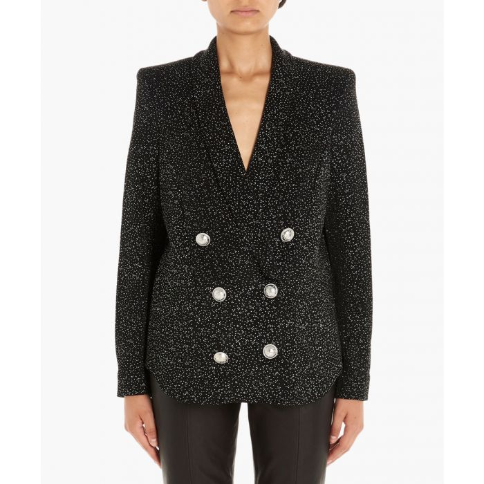 Image for Black glitter jacket
