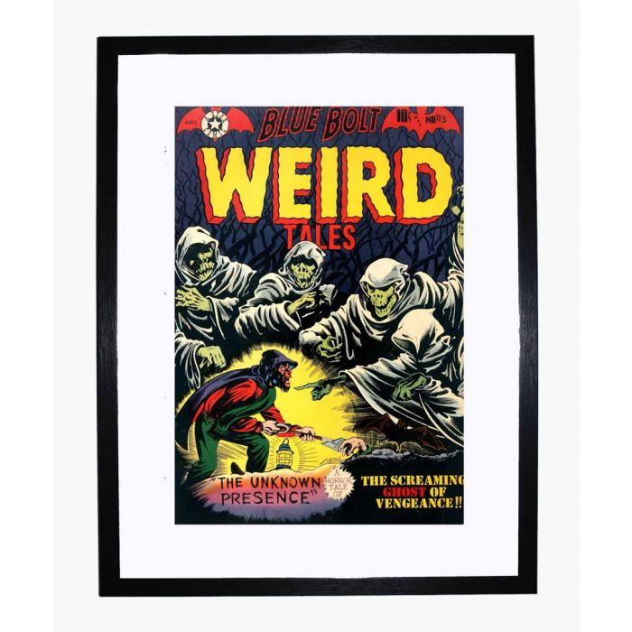 Image for Blue Bolt Weird 113 framed print