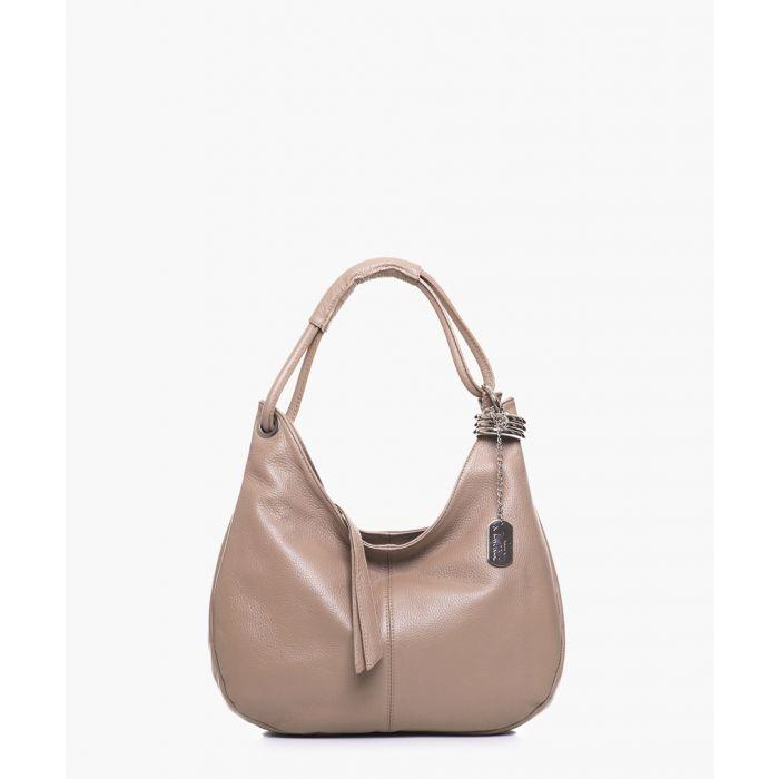 Image for Alba taupe shoulder bag