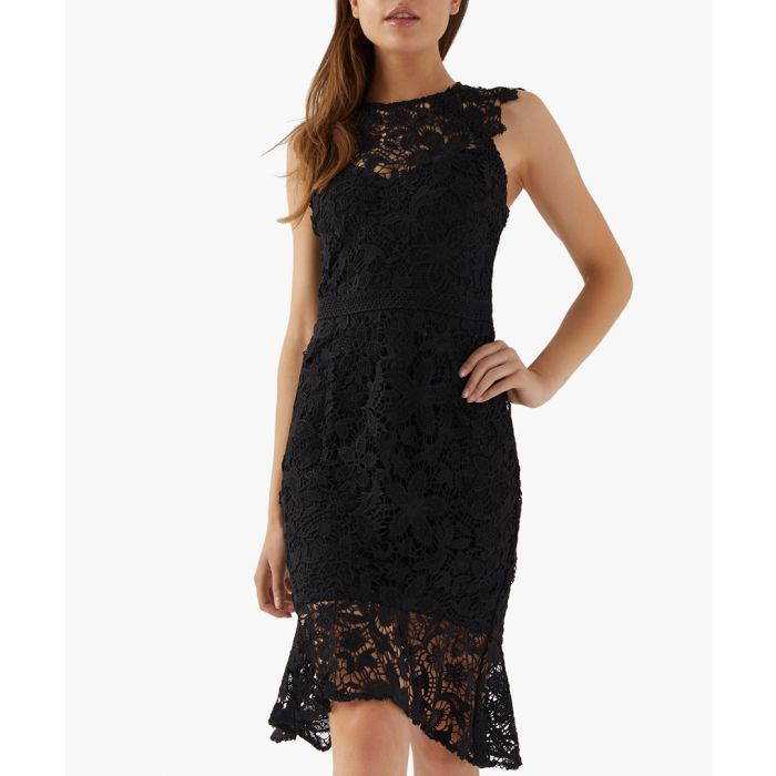 Image for Black lace dress