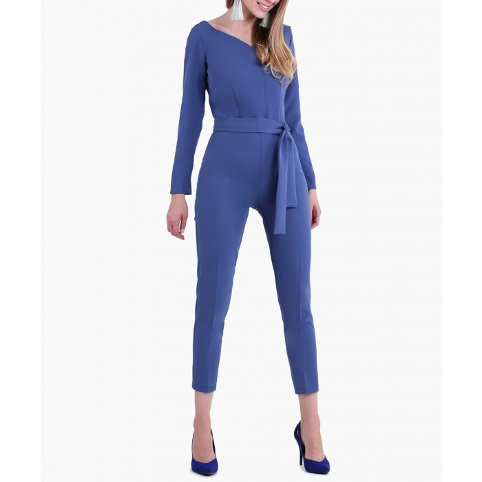 Image for Denim woven jumpsuit