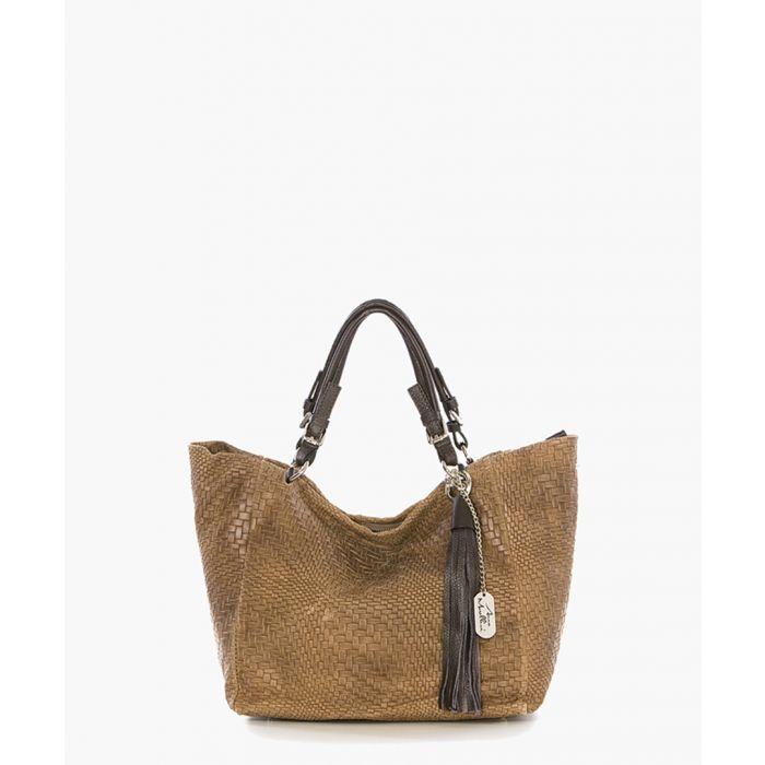 Image for Solana nut shoulder bag