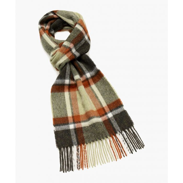 Image for Parceval olive pure wool scarf