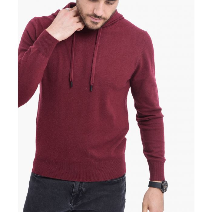 Image for Bordo cashmere and silk blend jumper