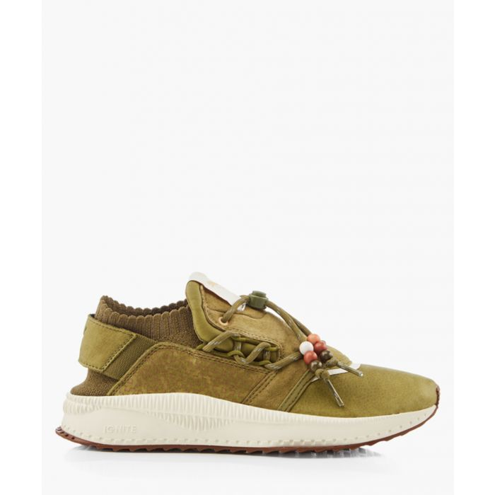 Image for Tsugi shinsei footpatrol khaki trainers