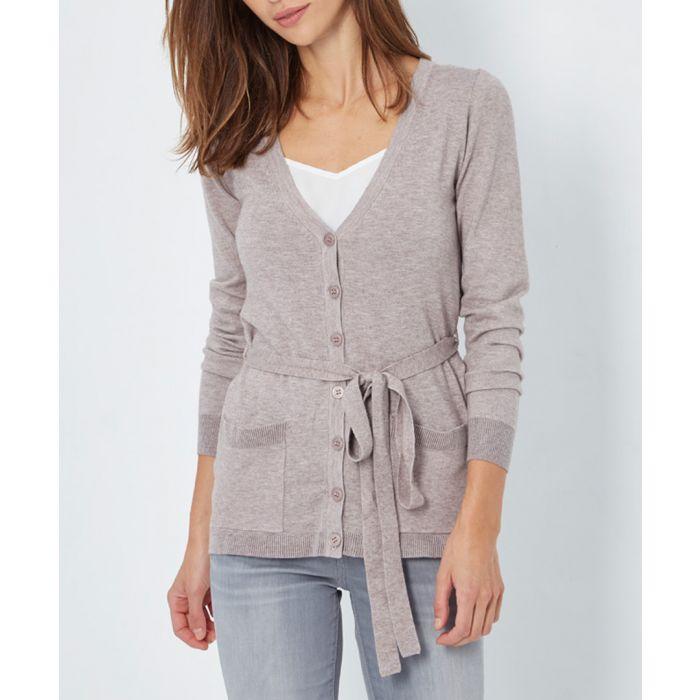 Image for Desert cashmere blend cardigan