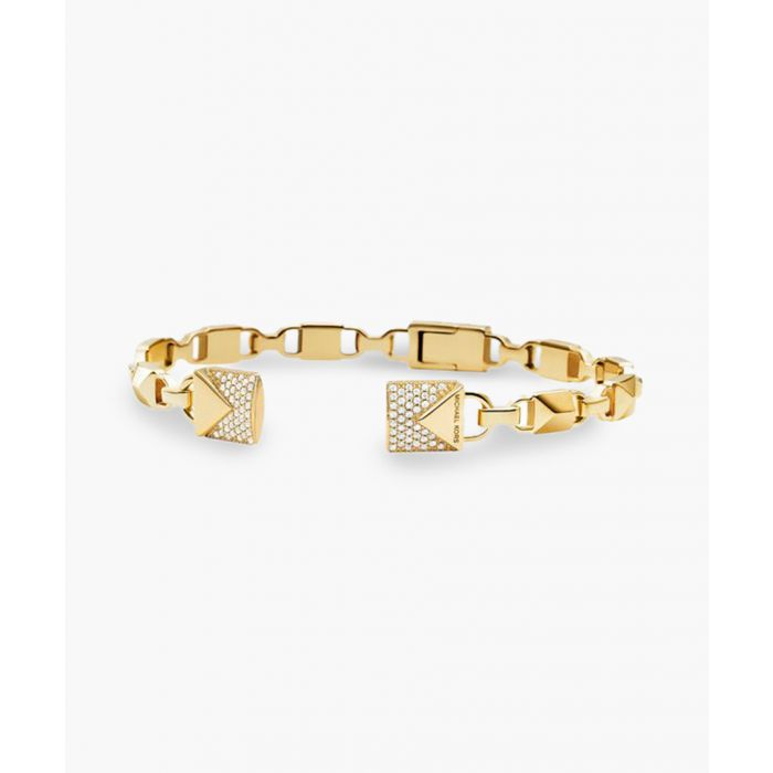 Image for Gold-plated cuff bracelet