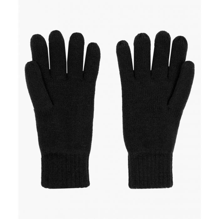 Image for Heritage black gloves
