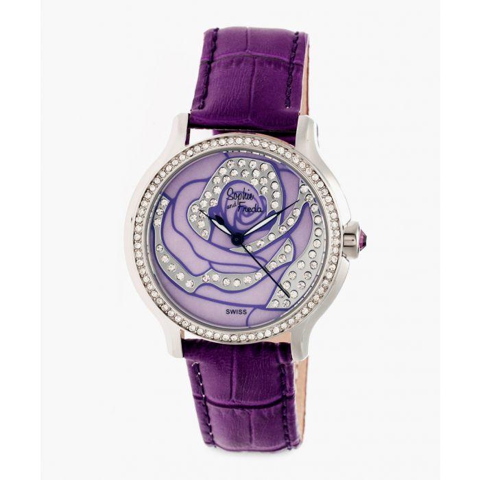 Image for Monaco purple watch