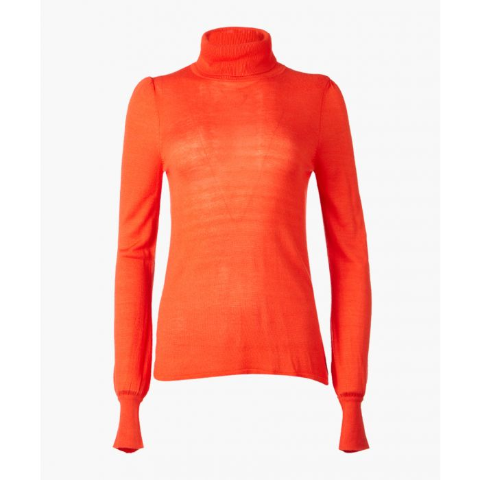 Image for Garbo clementine rollneck jumper