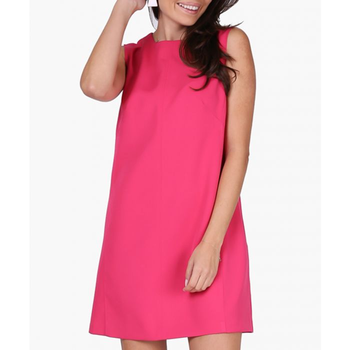 Image for Dark & Pink Woven Dress