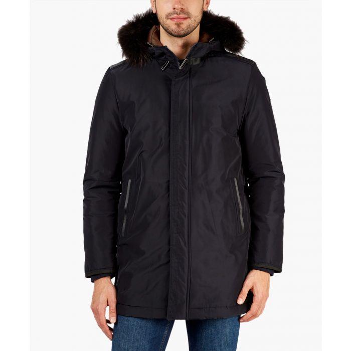 Image for Navy overcoat