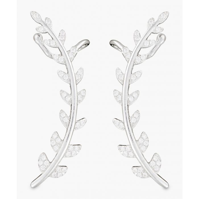 Image for Emilia silver-plated earrings