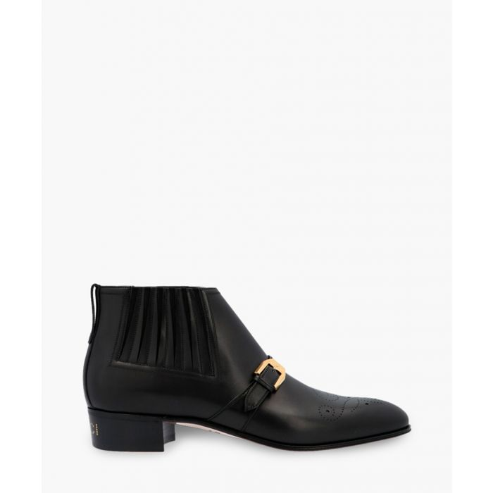 Image for G brogue leather ankle boots
