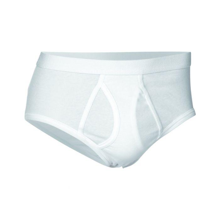 Image for White pure cotton briefs