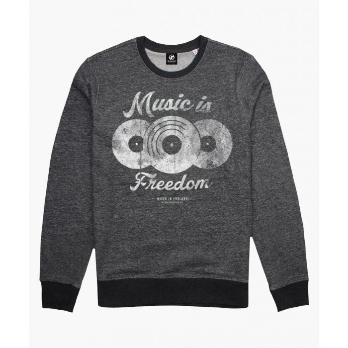 Image for Seventy Seven MUSIC IS FREEDOM Sweatshirts CARAMEL