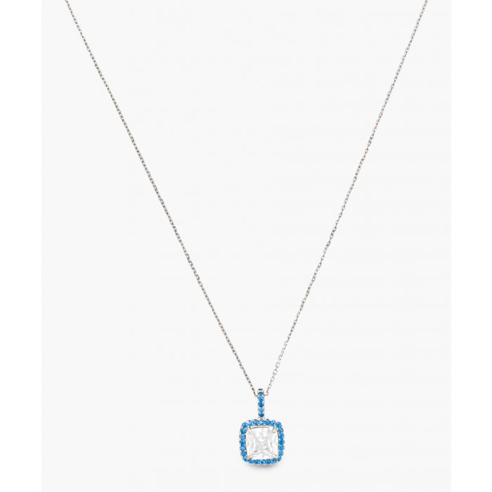 Image for Precious cushion silver-plated pendant