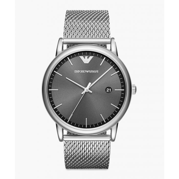 Image for Silver-tone dress watch