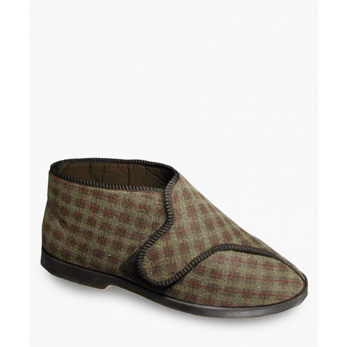 Image for Mens brown slippers
