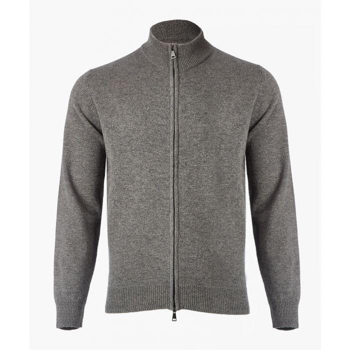 Image for Ash grey lambs wool jacket