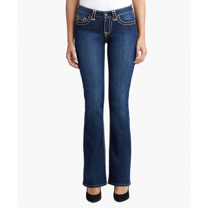 Image for Becca Mid-rise bootcut jeans