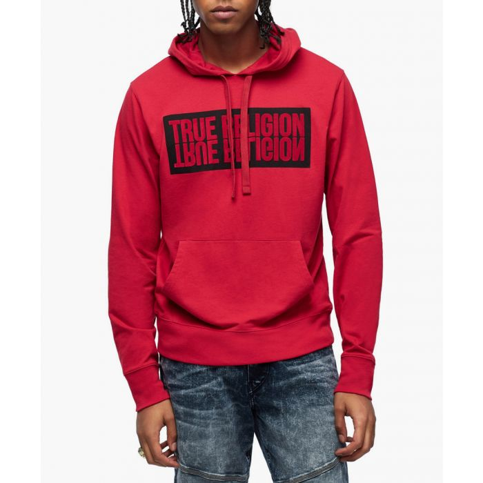 Image for Black and red reflection hoodie