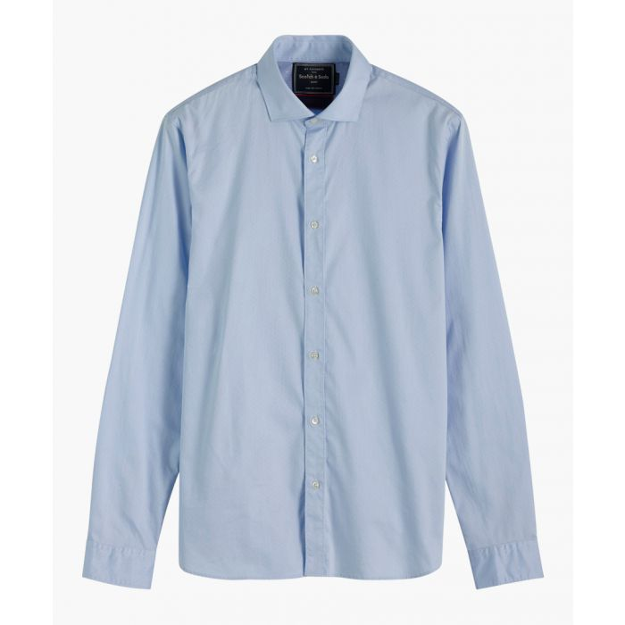 Image for Multi-coloured stretch-cotton classic dress shirt