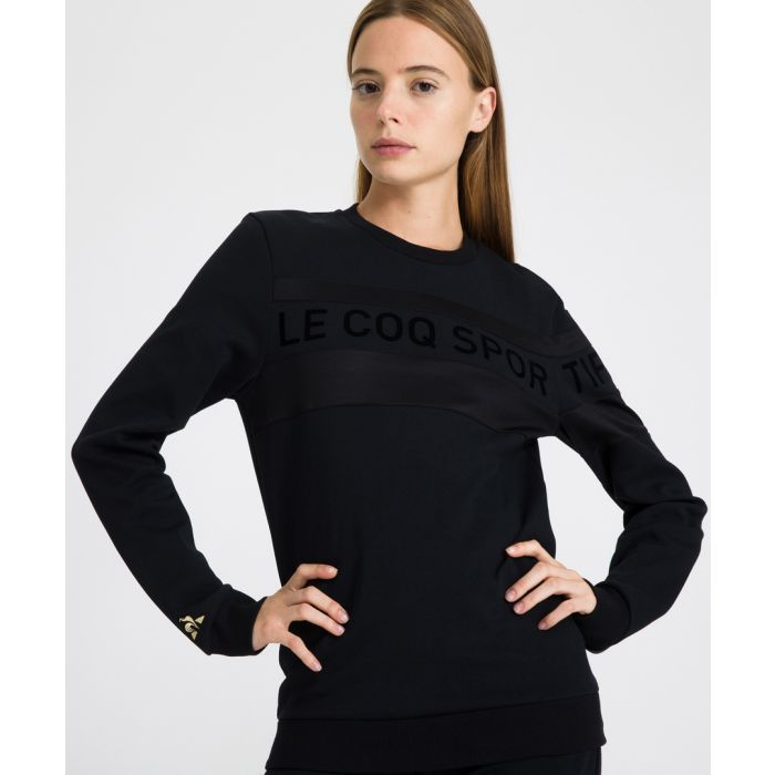 Image for DOr black crew neck jumper
