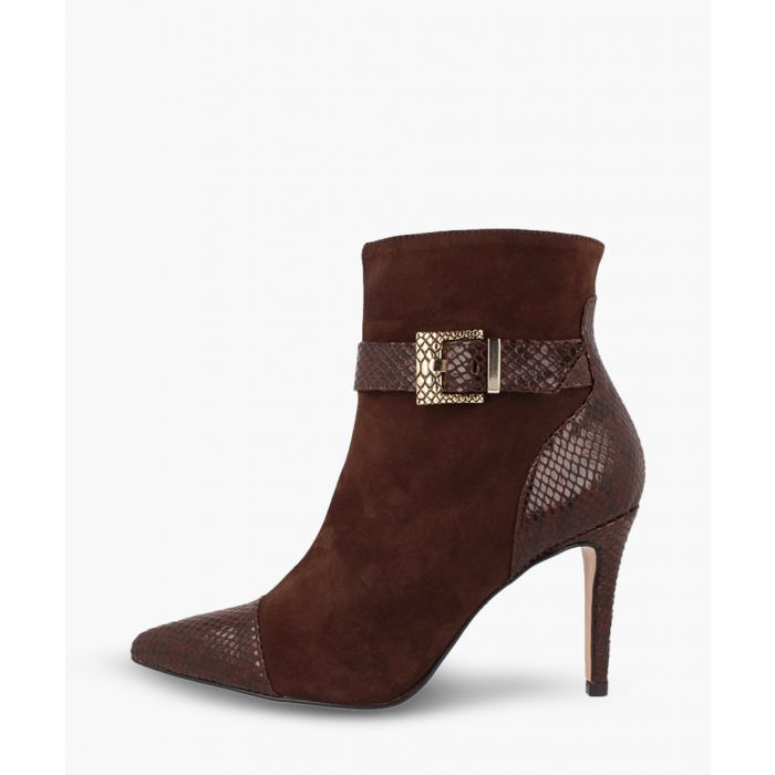 Image for Brown leather ankle boots
