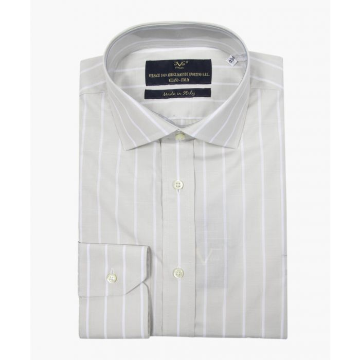 Image for Beige pure cotton classic collar shirt