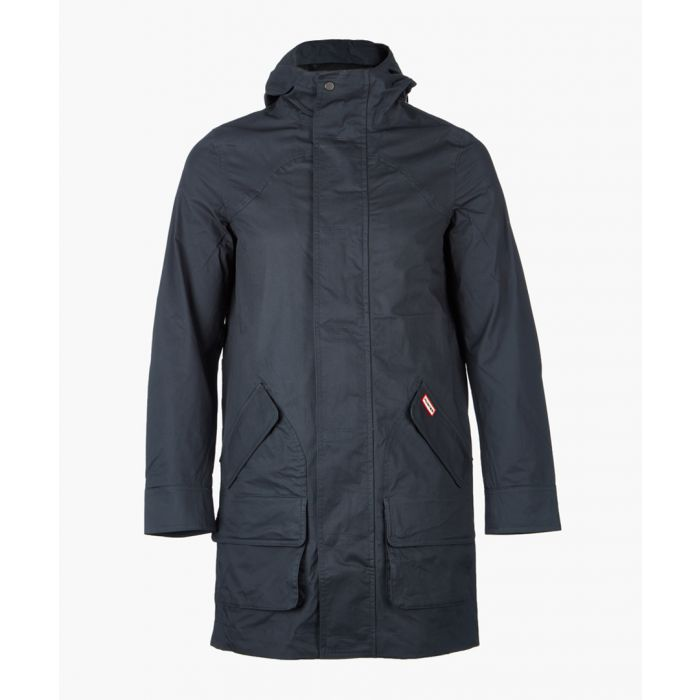 Image for Navy cotton coat