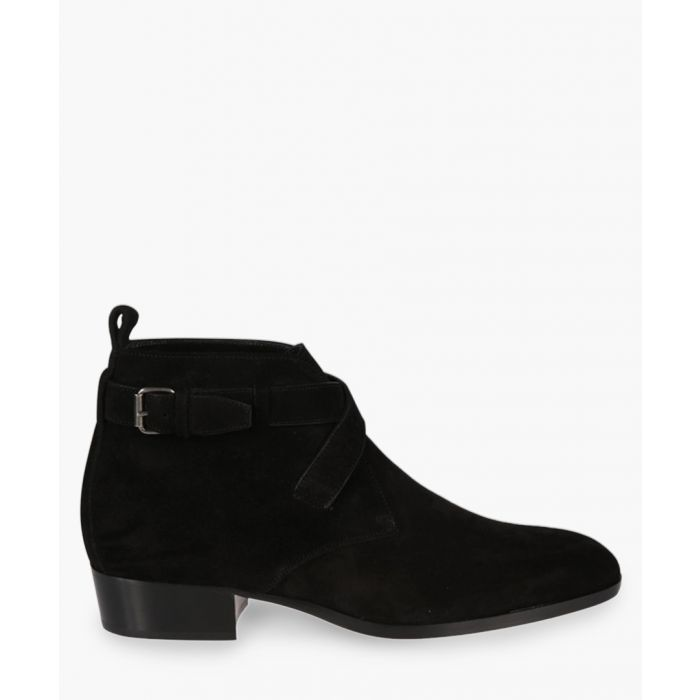Image for Black suede ankle boots