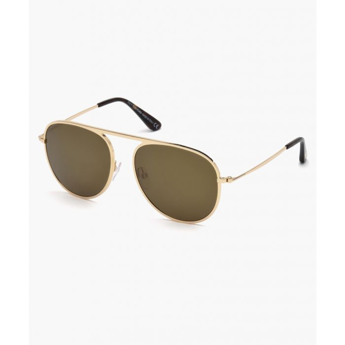 Image for Jason-02 gold-tone sunglasses