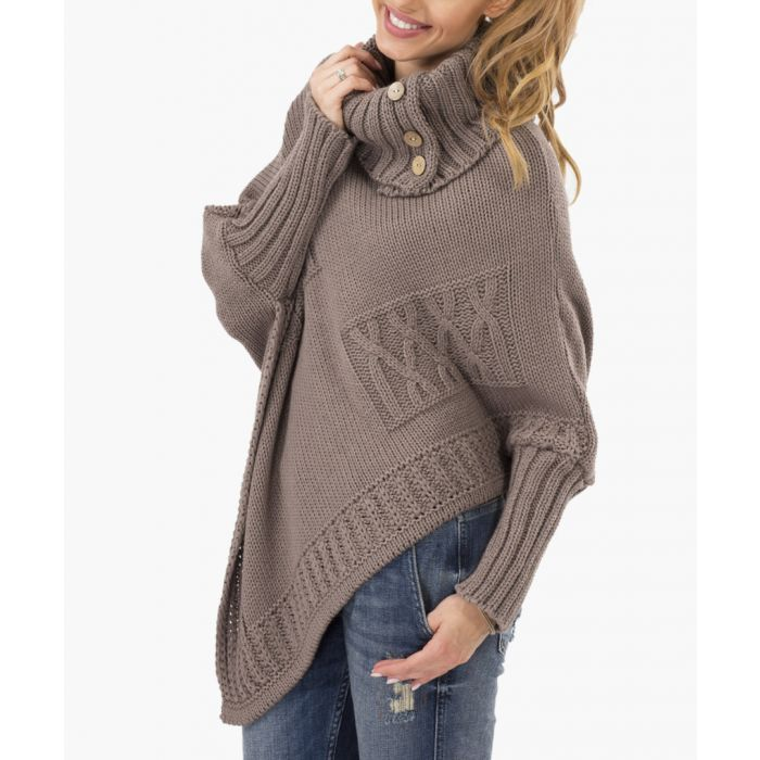 Image for Cappuccino Knitted Sweater