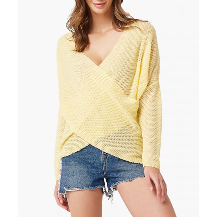 Image for Yellow loose cut jumper
