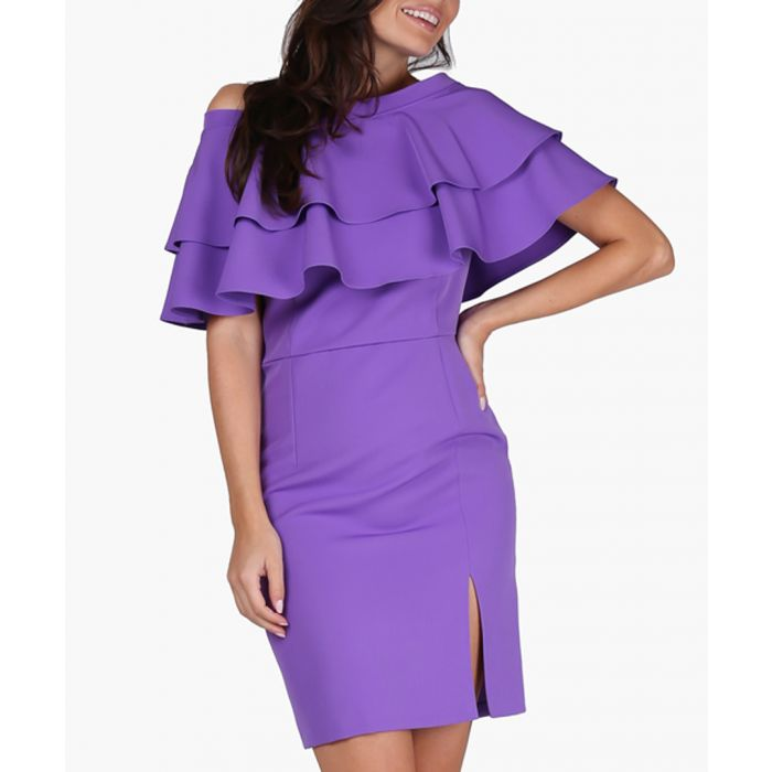 Image for Violet woven dress