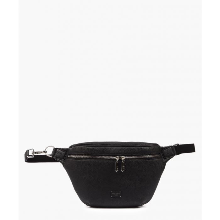 Image for Black calfskin palermo belt bag