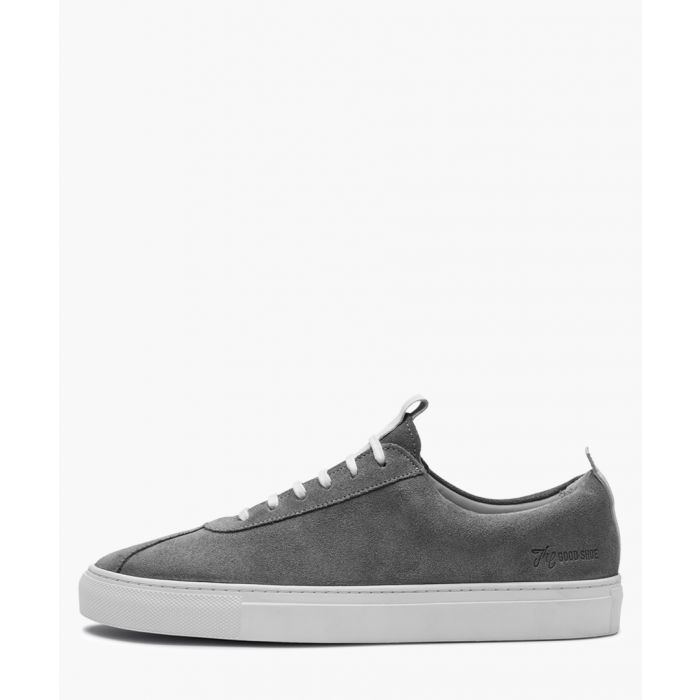 Image for Womens grey leather sneakers