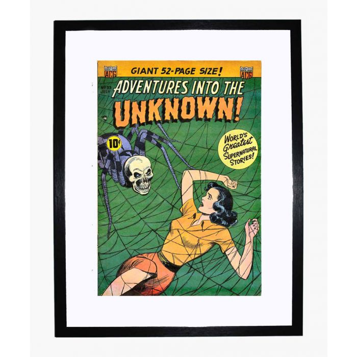 Image for Adventures into the Unknown 33 framed print