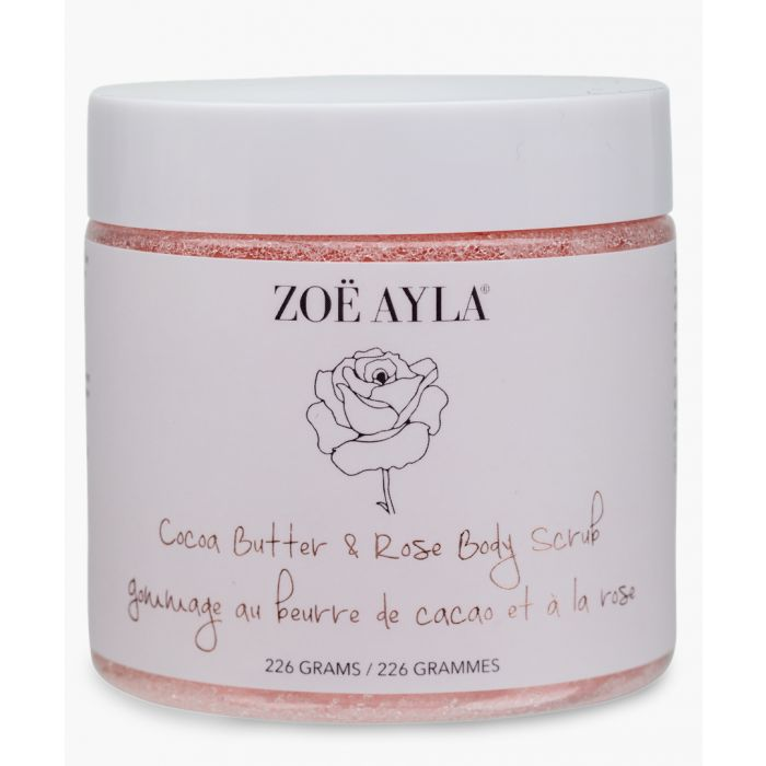 Image for Cocoa butter and rose body scrub